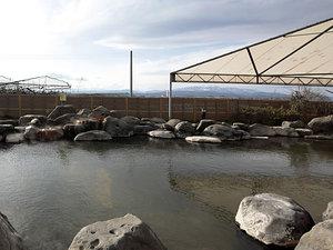 県内屈指の広さの大露天風呂